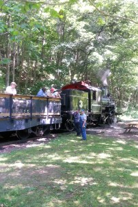 The historic Durbin Steam Train.